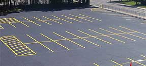 Rockford Asphalt Striping Contractor, Rockford Pavement Marking Contractor, Asphalt Striping, Blacktop Striping, Asphalt Pavement Marking Services